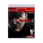 Jogo Metal Gear Solid 4 Guns of Patriots Greatest Hits - PS3