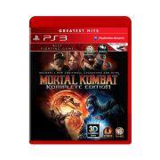 Jogo Mortal Kombat Komplete Edition Greatest Hits - PS3