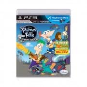 Jogo Phineas E Ferb: Através Da 2 Dimensão - PS3