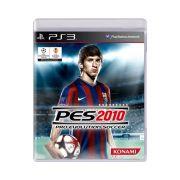 Jogo Pro Evolution Soccer PES 2010 - PS3