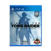 Jogo Rise of Tomb Raider 20 Year Celebration - PS4