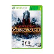 Jogo Senhor dos Anéis Guerra no Norte - Xbox 360