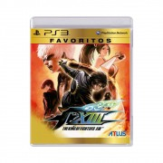 Jogo The King of Fighters XIII Favoritos - PS3