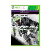 Jogo Tom Clancy's: Splinter Cell Blacklist Signature Edition - Xbox 360