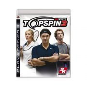 Jogo Top Spin 3 - PS3