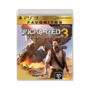 Jogo Uncharted 3 Drake's Deception Favoritos - PS3