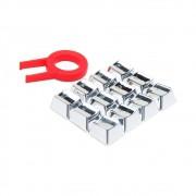 Keycaps Para Teclado Gamer Redragon A103GR Cinza
