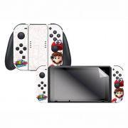 Kit Skin + Película para Nintendo Switch - Mario Odyssey