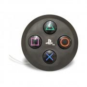 Luminária Redonda Botões PlayStation - Sony - Preta 32X30