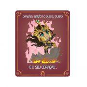 Placa Decorativa PVC Jarvan - League of Legends LOL - 27x24