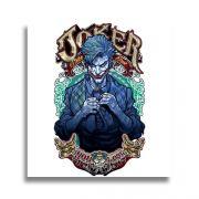 Placa Decorativa MDF Coringa Joker 20x20cm
