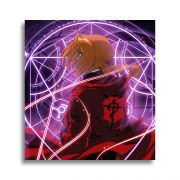 Placa Decorativa MDF Fullmetal Alchemist mod.2 20x20cm