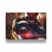 Placa Decorativa Megaman - PVC - 30x20cm