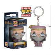 Pocket Funko POP Harry Potter Dumbledore Keychain