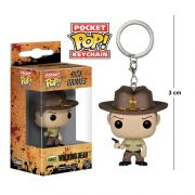 Pocket Funko POP The Walking Dead Rick Grimes Keychain