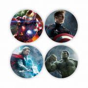Porta Copos Vingadores - Marvel - mod. 1 - 5X5