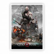 Pôster A3 - God of War