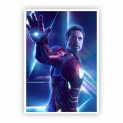 Pôster A3 - Homem de Ferro