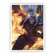 Pôster A3 - League of Legends Yasuo Odisséia