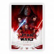 Pôster A3 - Star Wars Last Jedi