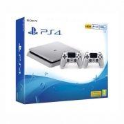 Sony PlayStation 4 - 500GB - Prata c/ 2 Controles - Ed. Limitada