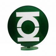 Totem Decorativo MDF Lanterna Verde