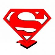 Totem Decorativo MDF Superman