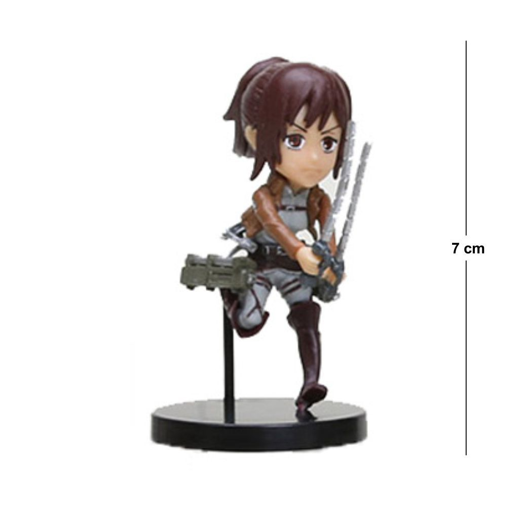 Action Figure Attack on Titan Sasha - 7cm