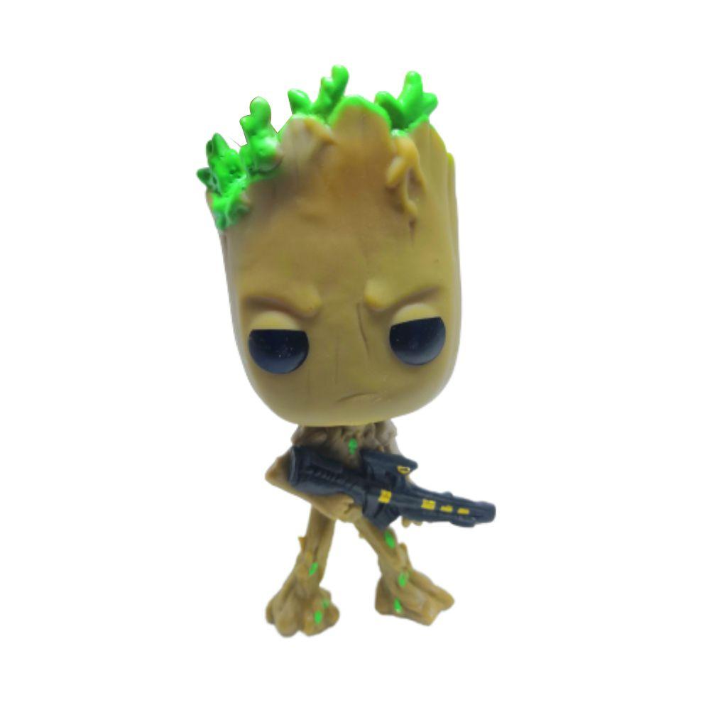 Figure Groot - Vingadores Marvel - 9CM