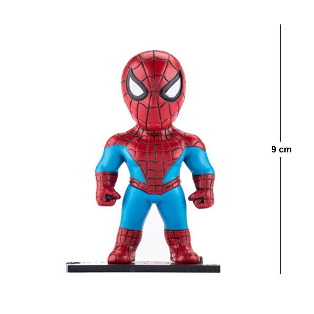 Action Figure Avengers Homem Aranha 9CM PVC