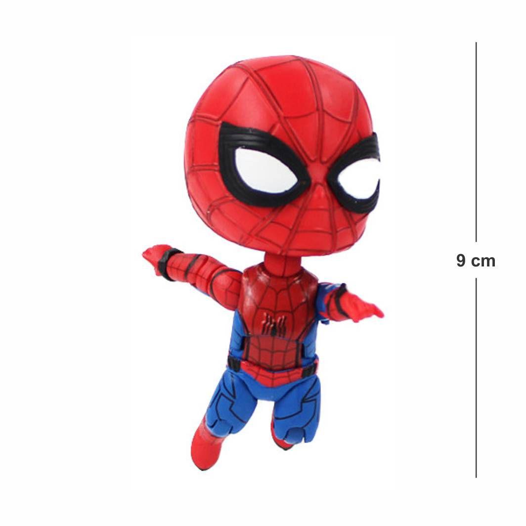 Action Figure Avengers Homem Aranha Articulado mod. 2 9CM