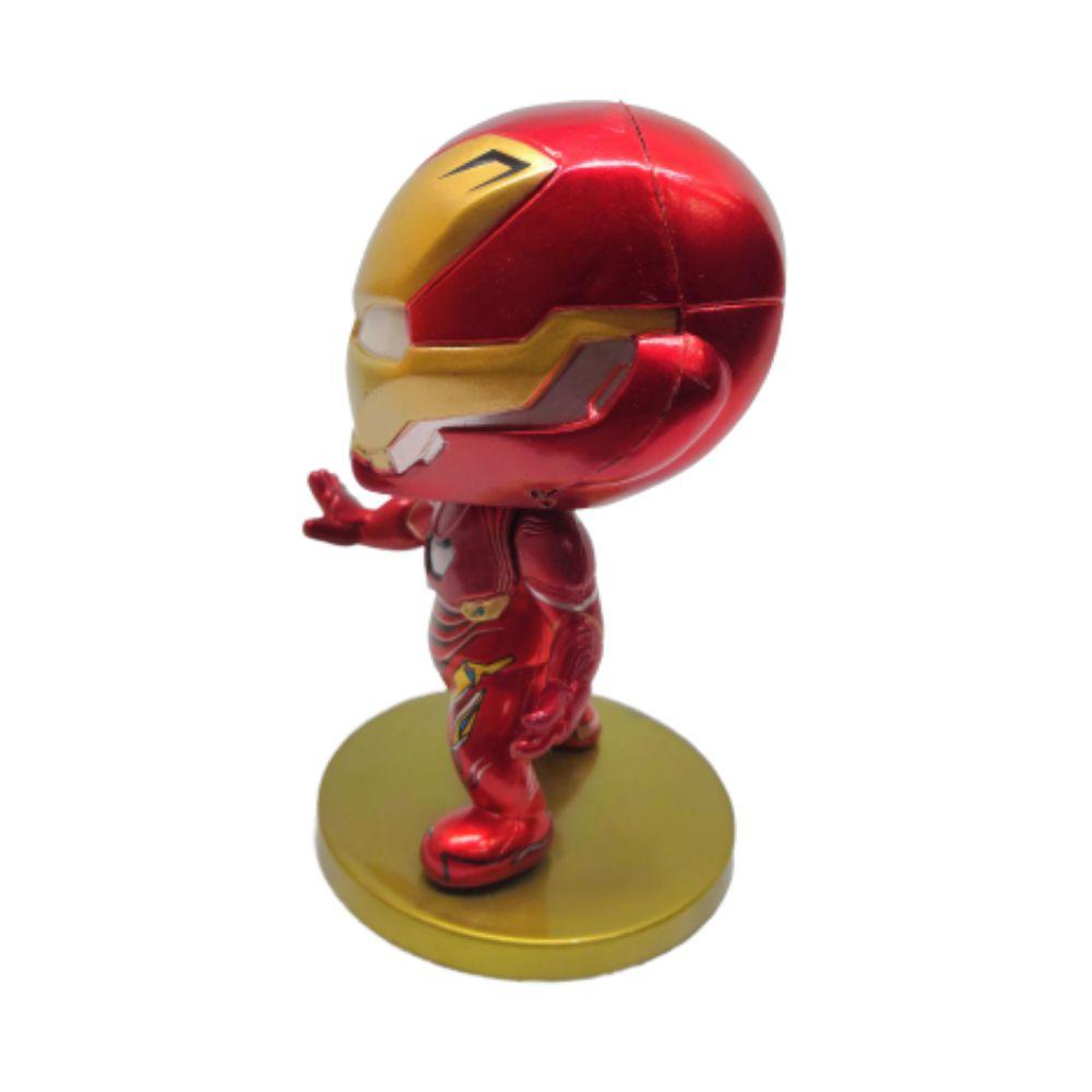Figure Homem de Ferro - Vingadores Marvel - 9CM