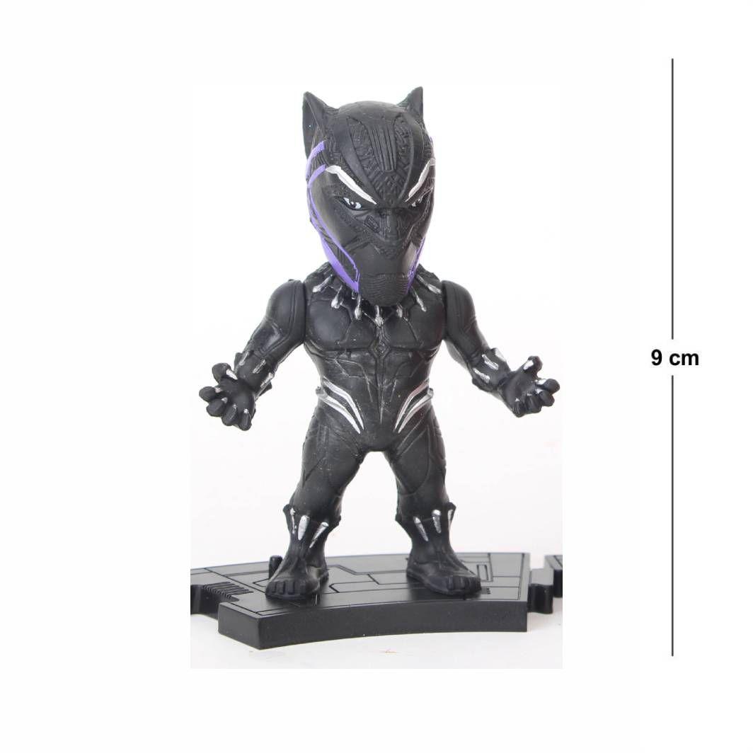 Action Figure Avengers Pantera Negra 9CM Modelo 2