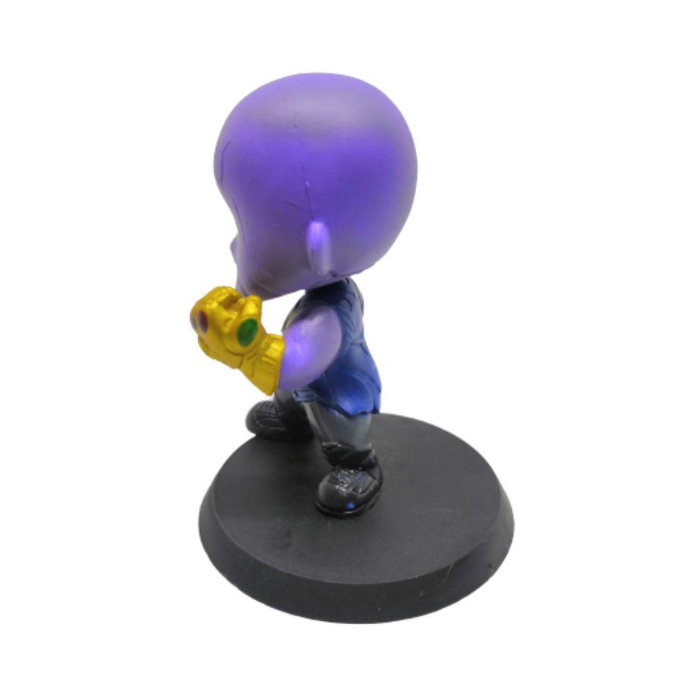 Figure Thanos - Vingadores Marvel - 7CM