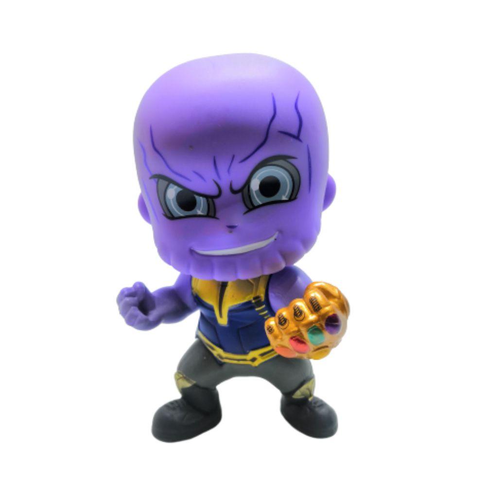 Figure Com Imã Thanos - Vingadores Marvel - 10CM