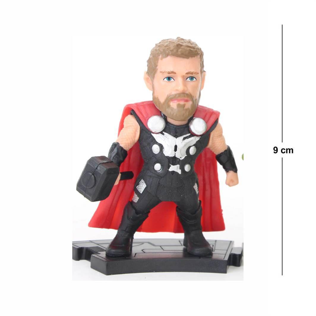 Action Figure Avengers Thor 9CM PVC Modelo 2