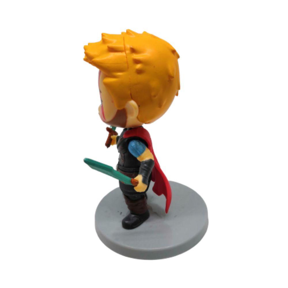 Action Figure Avengers Thor Modelo 1 9CM Base Cinza