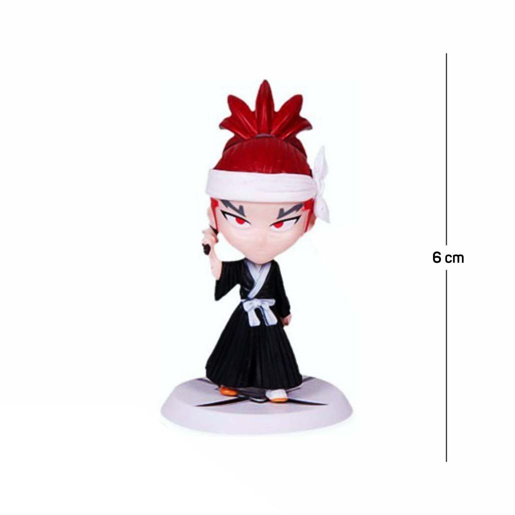 Action Figure Bleach Renji 6CM PVC