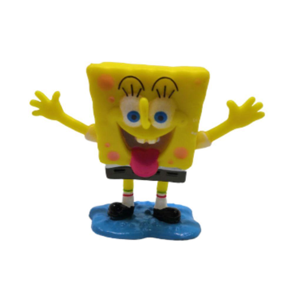 Figure Bob Esponja - Bob Esponja Calça Quadrada - 4CM