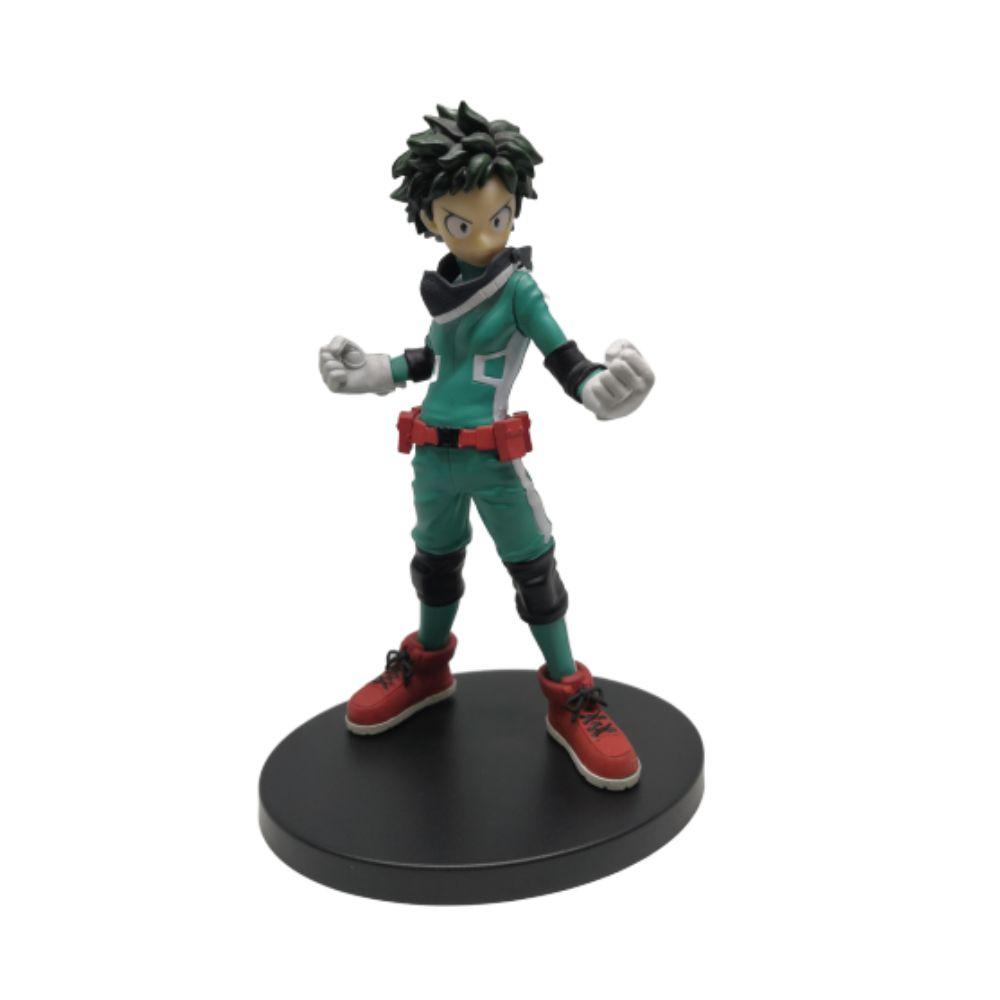 Action Izuku Midoriya - Figure Boku no Hero - 17CM