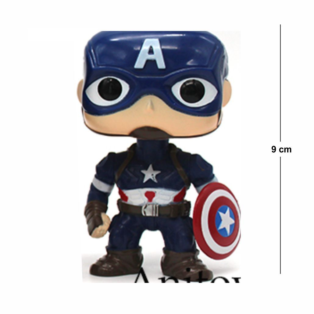 Action Figure Capitão América 9CM
