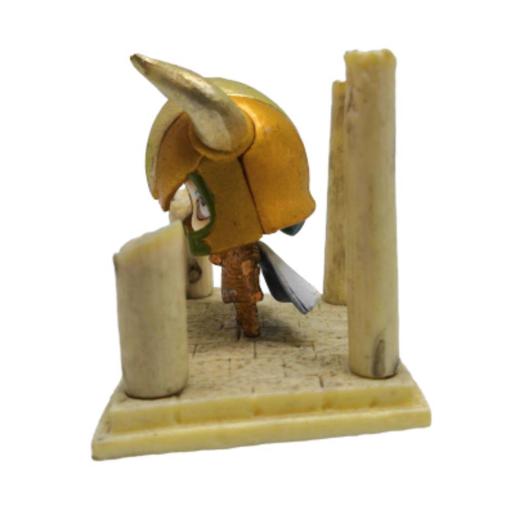 Action Figure CDZ Shura de Capricórnio 4CM PVC Santuário