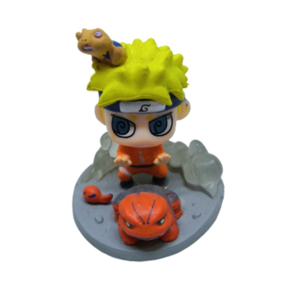 Action Figure Chibi Naruto com Sapo mod. 4 4CM PVC