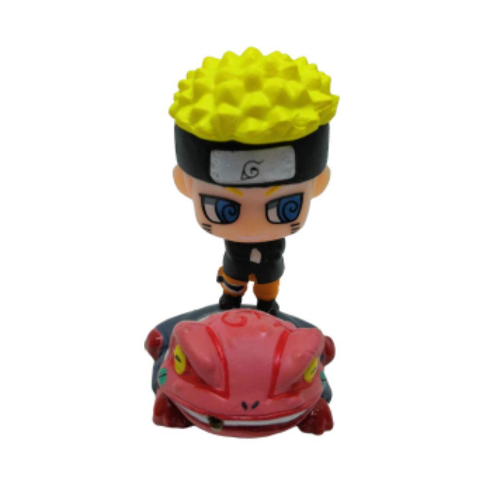 Action Figure Chibi Naruto com Sapo mod. 5 4CM PVC