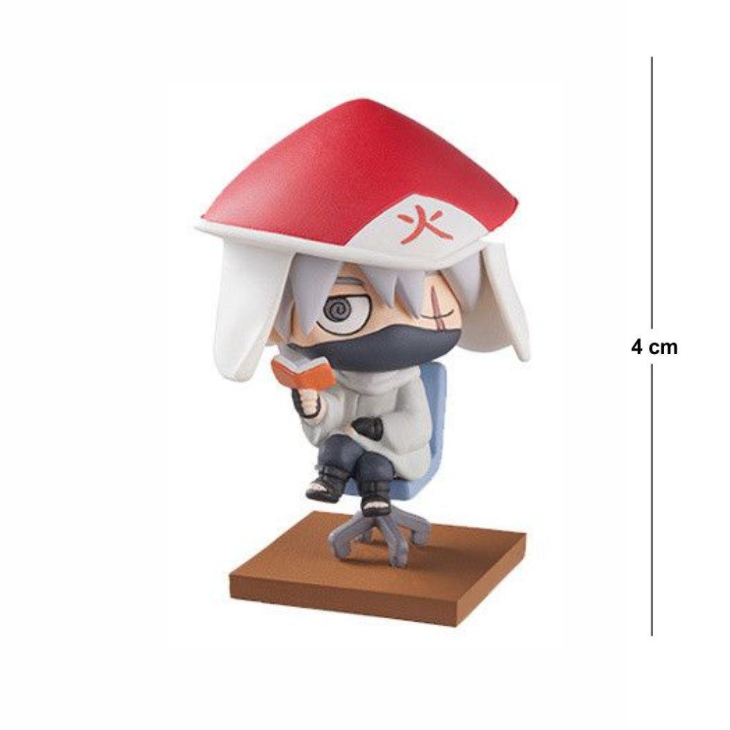 Action Figure Chibi Naruto Kakashi Hokage 4CM PVC