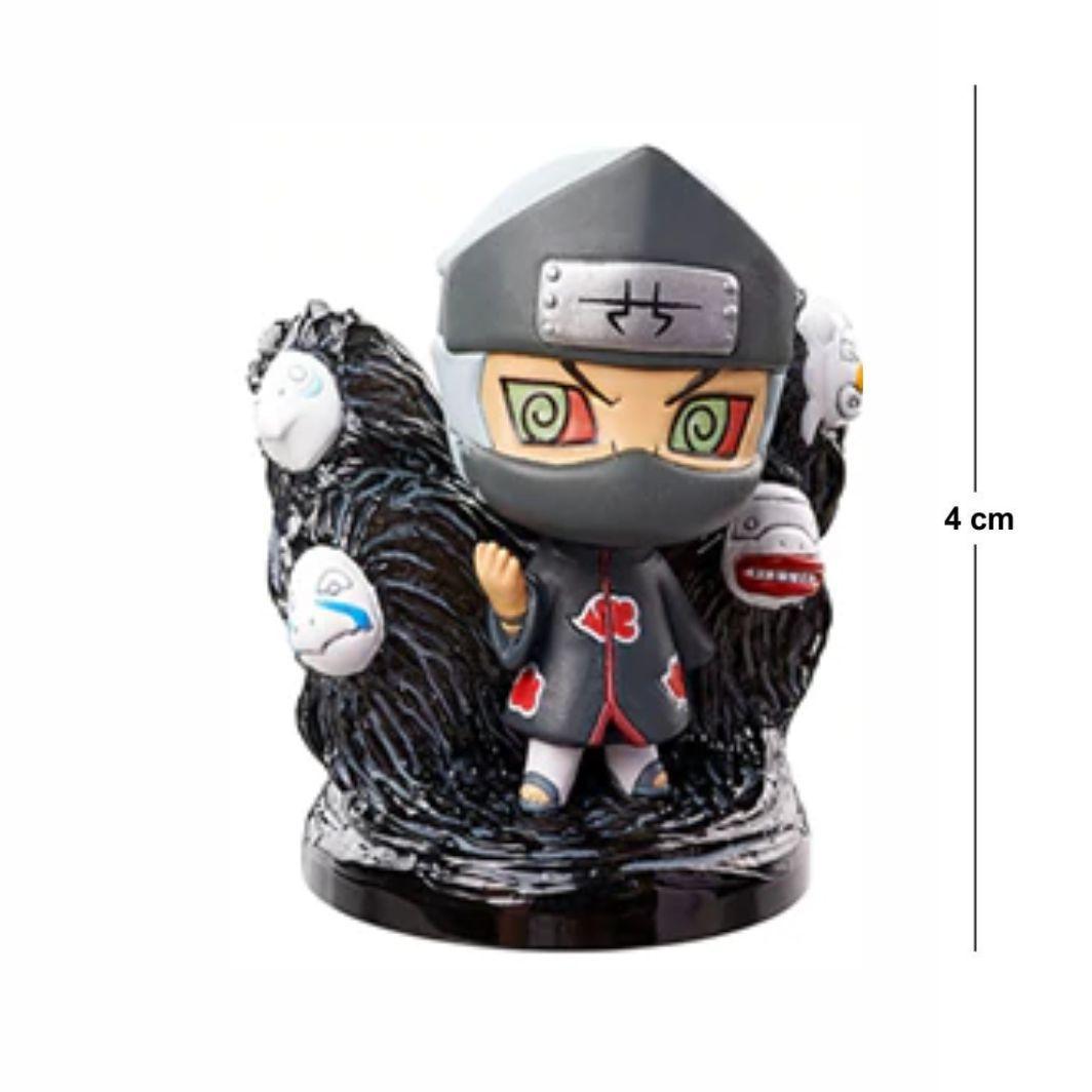 Action Figure Chibi Naruto Kakuzu 4CM PVC