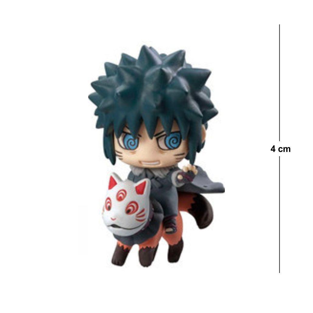 Action Figure Chibi Naruto Menma Uzumaki 4CM PVC