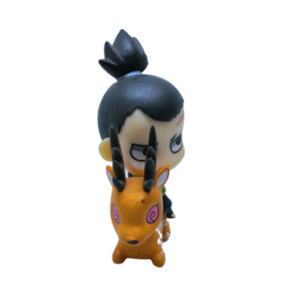 Action Figure Chibi Naruto Shikamaru 4CM PVC