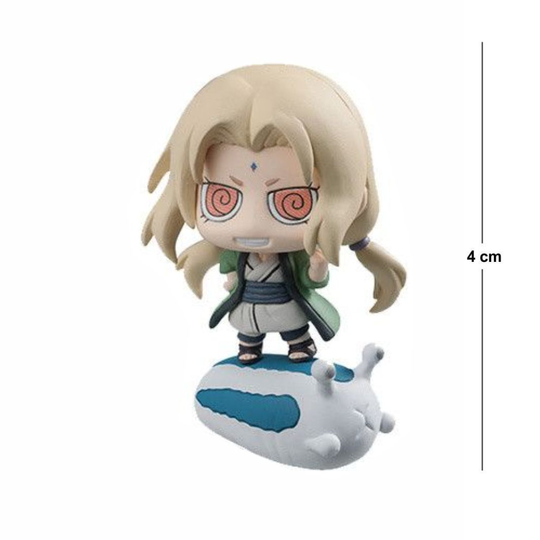Action Figure Chibi Naruto Tsunade 4CM PVC