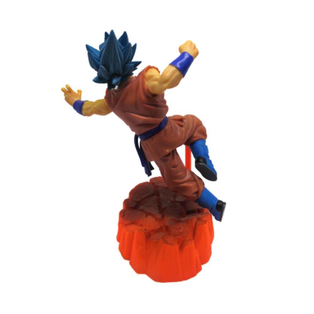 Figure Goku Blue - Dragon Ball Z DBZ - 17CM